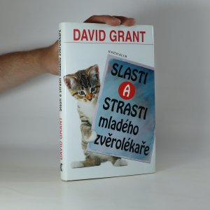 náhled knihy - Slasti a strasti mladého zvěrolékaře (kniha je cítit kouřem)