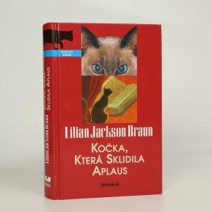 náhled knihy - Kočka, která sklidila aplaus (kniha je cítit kouřem)
