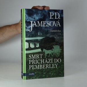 náhled knihy - Smrt přichází do Pemberley (kniha je cítit kouřem)