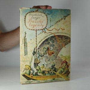 náhled knihy - Pražské legendy (kniha je cítit kouřem)