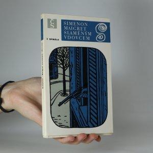 náhled knihy - Maigret slaměným vdovcem (kniha je cítit kouřem)