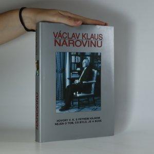 náhled knihy - Václav Klaus. Narovinu