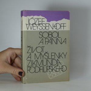 náhled knihy - Sobol a panna, Život a myšlenky Zikmunda Podfilipského
