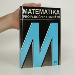 náhled knihy - Matematika pro IV. ročník gymnázií