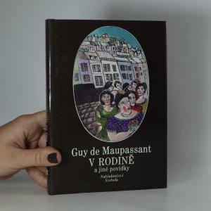 náhled knihy - V rodině a jiné povídky