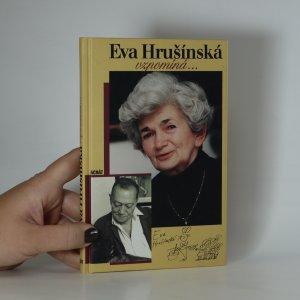 náhled knihy - Eva Hrušínská vzpomíná