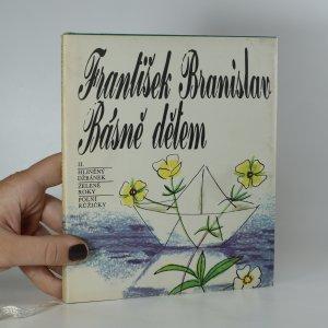 náhled knihy - Básně dětem. II. díl. Hliněný džbánek, Zelené roky, Polní růžičky
