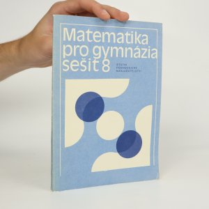 náhled knihy - Matematika pro gymnázia. Sešit 8