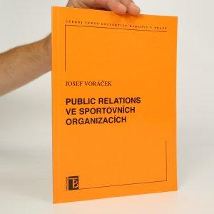 náhled knihy - Public relations ve sportovních organizacích