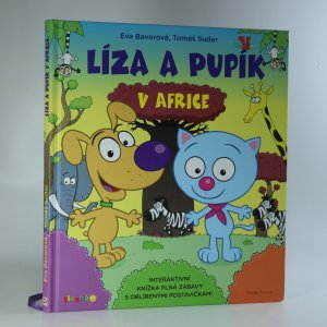 náhled knihy - Líza a Pupík v Africe