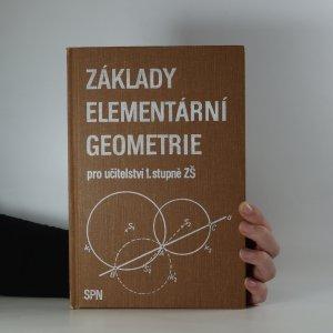 náhled knihy - Základy elementární geometrie pro učitelství 1. stupně ZŠ