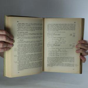 antikvární kniha Finanční účetnictví průmyslových podniků, 1950