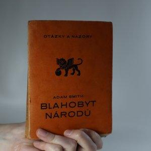 náhled knihy - Blahobyt národů