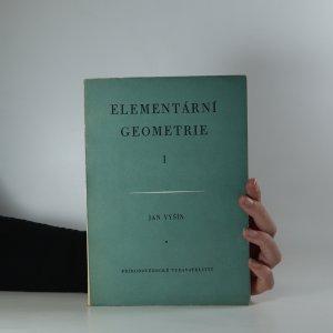 náhled knihy - Elementární geometrie I.