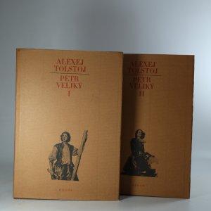 náhled knihy - Petr Veliký I-II. díl (2 svazky)