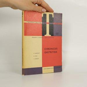 náhled knihy - Chronická gastritida (kniha je cítit kouřem)