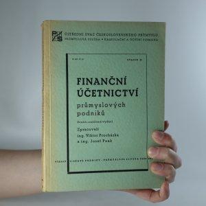 náhled knihy - Finanční účetnictví průmyslových podniků