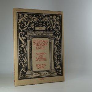 náhled knihy - Z historie evropské knihy