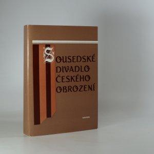náhled knihy - Sousedské divadlo českého obrození