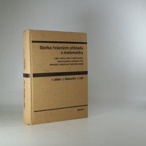 náhled knihy - Sbírka řešených příkladů z matematiky