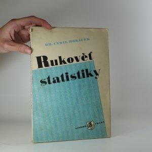 náhled knihy - Rukověť statistiky