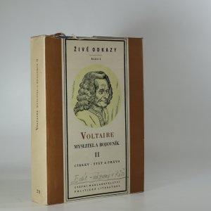 náhled knihy - Myslitel a bojovník. II. díl