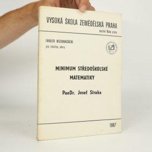 náhled knihy - Minimum středoškolské matematiky