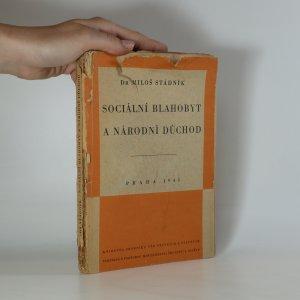 náhled knihy - Sociální blahobyt a národní důchod