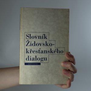 náhled knihy - Slovník židovsko-křesťanského dialogu