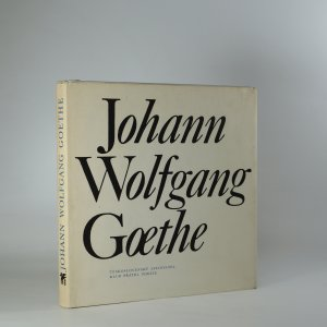 náhled knihy - Johann Wolfgang Goethe. Výbor z poezie