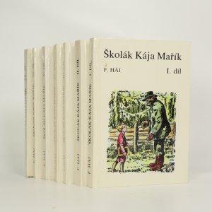 náhled knihy - Školák Kája Mařík I.-VII. díl