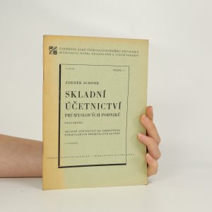 náhled knihy - Skladní účetnictví průmyslových podniků (vč. příloh 1. - 10.)