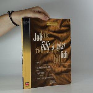 náhled knihy - Jak řídit a vést lidi