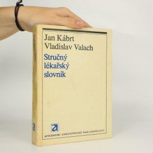 náhled knihy - Stručný lékařský slovník