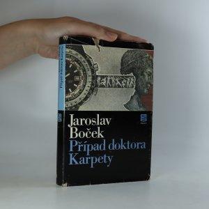 náhled knihy - Případ doktora Karpety