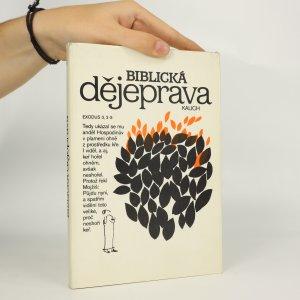 náhled knihy - Biblická dějeprava