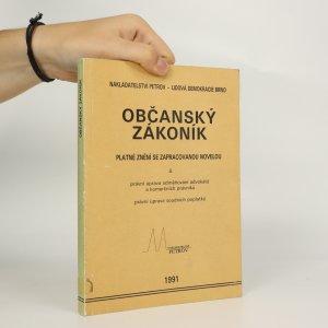 náhled knihy - Občanský zákoník