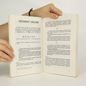 antikvární kniha Občanský zákoník, 1991