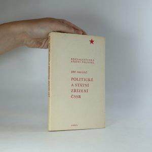 náhled knihy - Politické a státní zřízení ČSSR