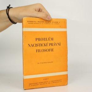 náhled knihy - Problém nacistické právní filosofie