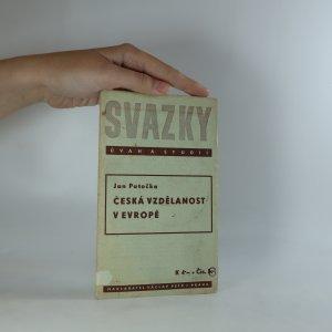náhled knihy - Česká vzdělanost v Evropě
