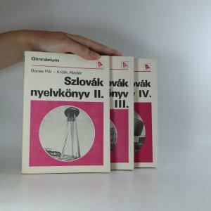 náhled knihy - Szlovák nyelvkönyv II. - IV. (3 svazky)