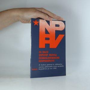 náhled knihy - Za další úspěšný rozvoj Československého hospodářství