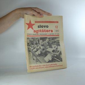 náhled knihy - Slovo agitátora 12/1979