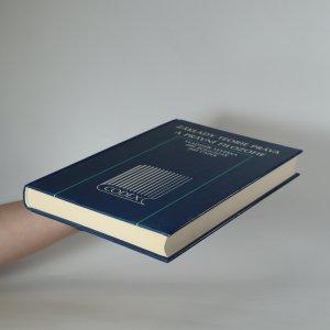 antikvární kniha Základy teorie práva a právní filozofie, 1996