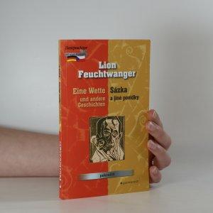 náhled knihy - Eine Wette und andere Geschichten. Sázka a jiné povídky