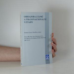 náhled knihy - Obhajoba zájmů a transnacionální vztahy