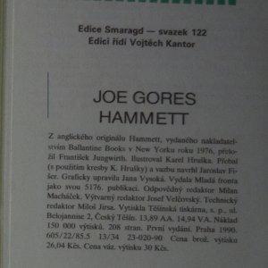 antikvární kniha Hammett, 1990