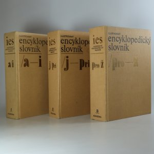 náhled knihy - Ilustrovaný encyklopedický slovník (3 svazky, komplet)