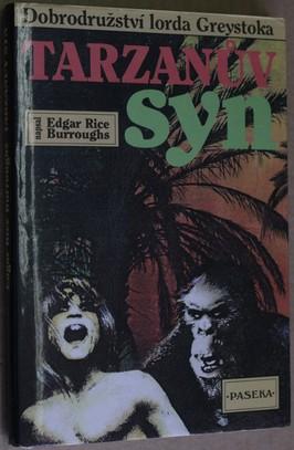 náhled knihy - Tarzanův syn